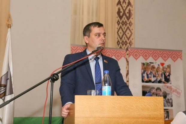 Совещание идеологического актива Первомайского района г.Бобруйска.