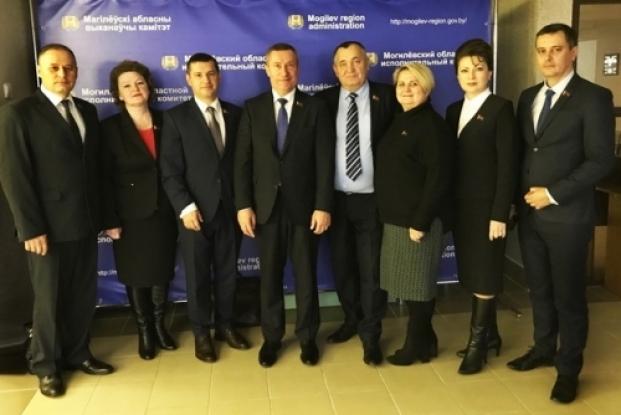 Заседание Могилевского областного исполнительного комитета.